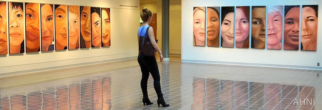 """I am you"" exhibit"